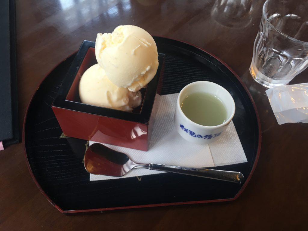 清酒アイスクリーム